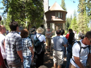 Caretaker's walking tour at Living History Day - Lake Tahoe